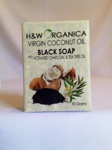 BLACK SOAP with ACTIVATED CHARCOAL